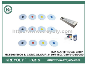 INK CHIP FOR HC5500/5000 & COMCOLOUR 3150/7150/7250/9150/9050