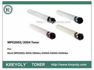 High Quality Good Compatiblity Ricoh MPC2003 MPC2004 Color Toner Cartridge