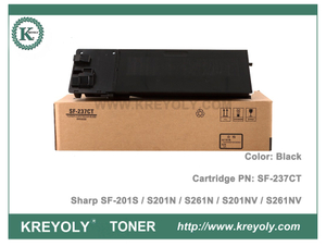 SF237 Sharp Toner Cartridge SF-237CT for SF-201S S201N S261N S201NV S261NV