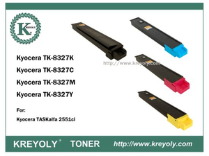 TK-8325/8326/8327/8328/ 8329 COLOR TONER CARTRIDGE FOR KYOCERA TASKALFA 2551CI