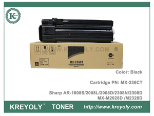 MX236 Sharp MX-236 Toner Cartridge for AR-1808S 2008L 2008D 2308N 2308D AR-5618 5620 5623