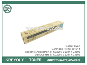 FUJI XEROX Toner Cartridge DocuCentre ApeosPort III C2200 C2201 C3300