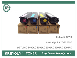 Color Toner Cartridge Toshiba T-FC505 for e-Studio 2000AC 2505AC 3505AC 4505A 3005AC