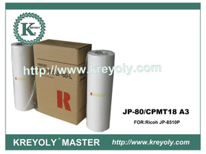 Ricoh Master Roll for JP-80 CPMT18 A3
