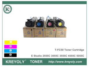T-FC50 Toner Cartridge for Toshiba E-Studio 2555C 3055C 3555C 4555C 5055C Color Copier