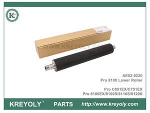 AE02-0220 For Ricoh Pro 8100EX 8100S 8110S 8120S Lower Fuser Pressure Roller Pro C651 751