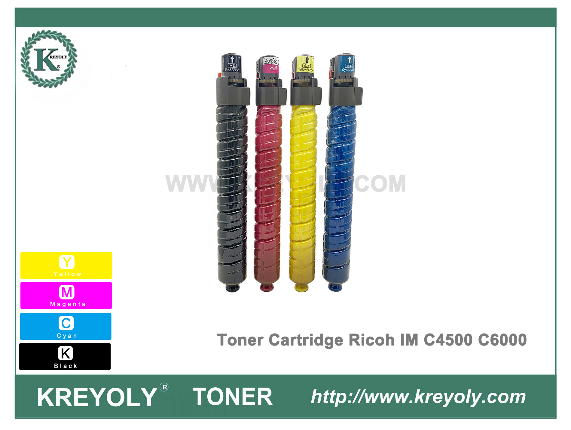 Ricoh Color Toner Cartridge for IMC6000 IMC4500