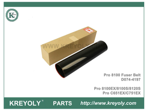 Japan D074-4197 Original Fuser Belt For RICOH Pro 8100 8120 C651EX C751EX Fuser Film Sleeve
