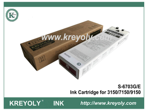 S-6703 Magenta Ink Cartridge For InkJet Machine Riso ComColor 3150 7150 9150