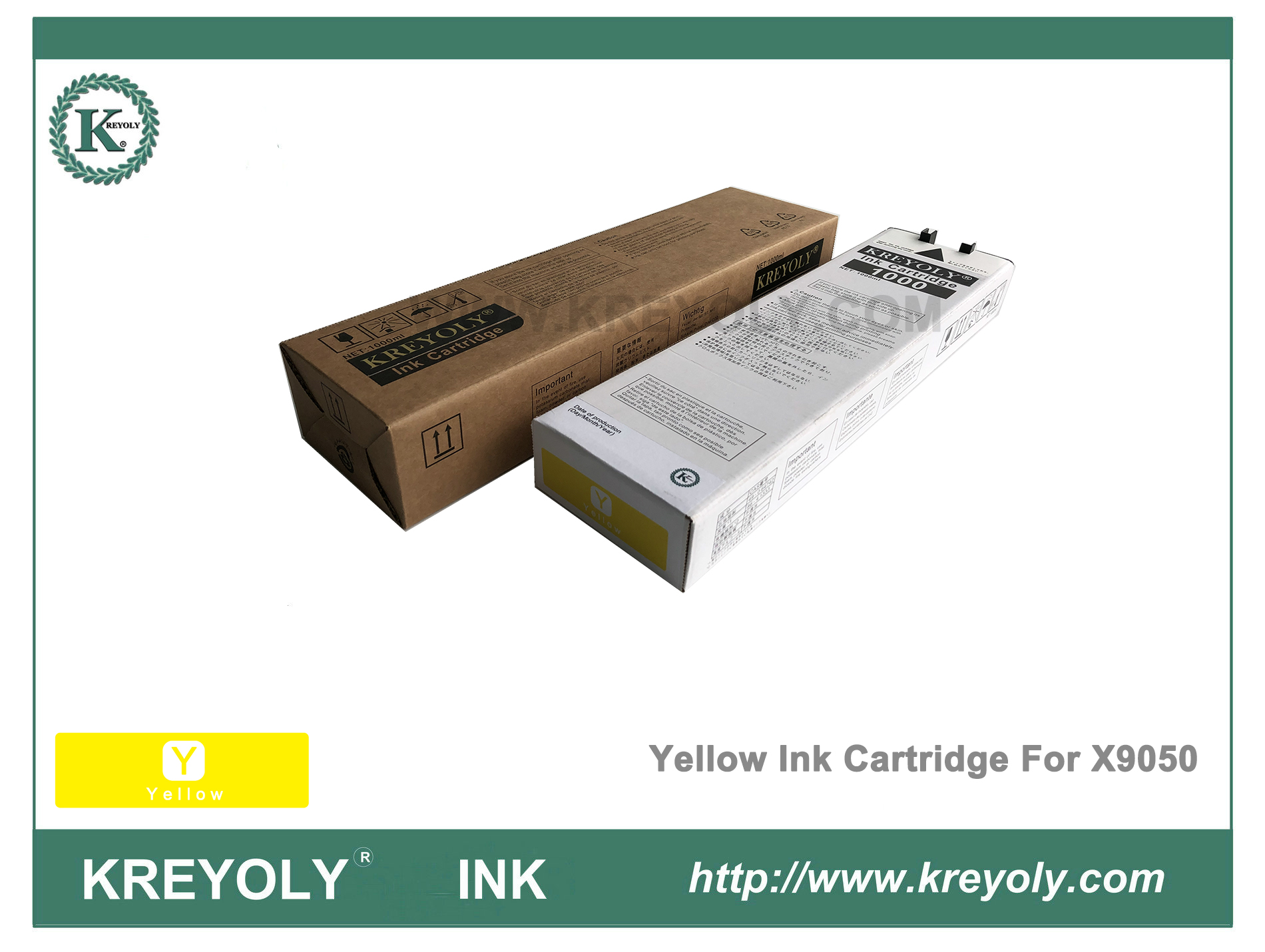 Riso ComColor Orphis X9050 Color Yellow Ink Cartridge