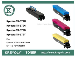 TK-570/572/574 COLOR TONER CARTRIDGE FOR KYOCERA PRINTER FS-C5400DN Ecosys P7035cdn