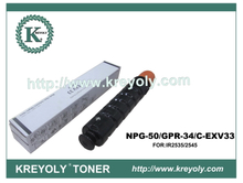 Toner Compatible Toner for Canon GPR-34/NPG50/C-EXV33