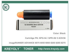 Canon Toner Cartridge NPG54 GPR38 C-EXV36 for ImageRUNNER ADVANCE 6075 6055 6065 6255 6265 6275