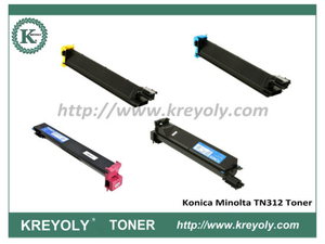Compatible TN-312 Color Toner Cartridge for Konica-Minolta Bizhub C300 C352