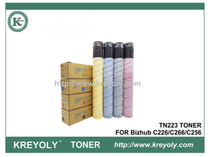 TN223 TONER CARTRIDGE FOR KONICA MINOLTA Bizhub C226 C266 C256