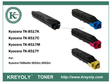 TK-8515/8516/8517/8518/8519 COLOR TONER FOR TASKALFA 5052CI/6052CI
