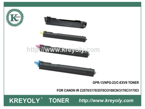 Compatible Color Copier Toner Cartridge for GPR13/NPG-23/C-EVX9