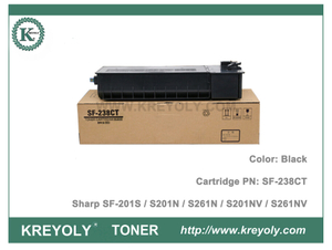 Sharp Toner Cartridge SF-238CT for SF-201S S201N S261N S201NV S261NV SF238