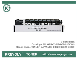 GPR-53 C-EXV 49 NPG-67 Toner Cartridge for Canon