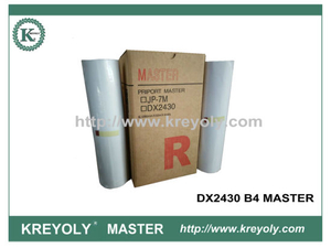 RICOH DX2430 B4 MASTER FOR CP6201C