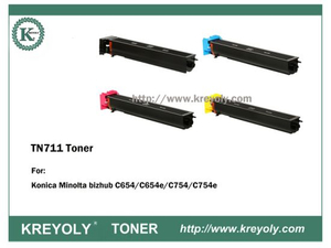 TN711 TONER FOR Bizhub C654/C754