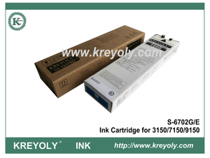 S-6702 Cyan Ink Cartridge For InkJet Machine Riso ComColor 3150 7150 9150