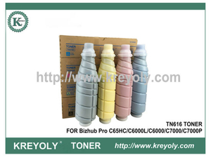 TN616 TONER CARTRIDGE FOR KONICA MINOLTA Bizhub PRO C65HC C6000L C6000 C7000 C7000P