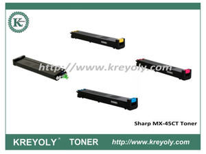 MX-45 Color Toner for Sharp MX3500N 3501N 4500N 4501N