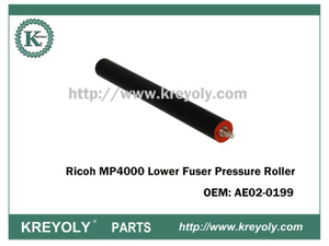 Cost-Saving Ricoh MP4000 AE020199 Lower Fuser Pressure Roller