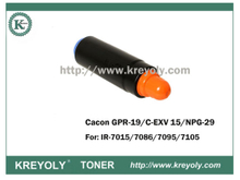 NPG-29/GPR-19/C-EXV15 Toner Cartridge for IR7015/7086/7095