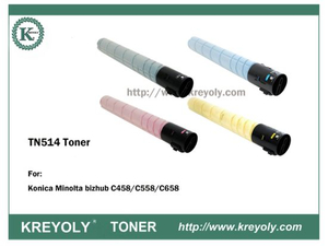 TN514 TONER CARTRIDGE FOR KONICA MINOLTA Bizhub C458 C558 C658