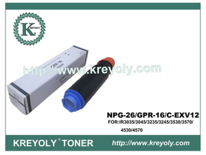 Compatible Toner Cartridge for GPR-16/NPG 26/C-EXV 12