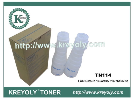 Konica Minolta TN 114 Toner Cartridge for Bizhub 162 210 7516 7616 752 163 211 220