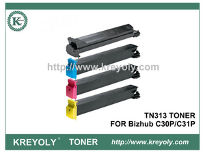 TN313 TONER CARTRIDGE FOR KONICA MINOLTA Bizhub C30P C31P