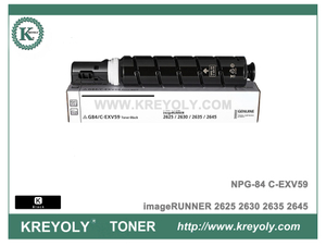 Canon NPG84 C-EXV59 Toner Cartridge for imageRUNNER 2625 IR2630 IR2635 IR2645