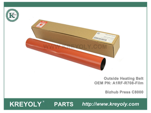 Bizhub PRESS C8000 Outside Heating Belt Fuser Belt (Japan) A1RF-R708-Film