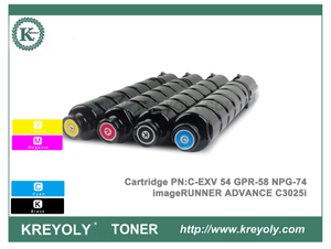 New Canon C-EXV54 GPR58 NPG74 Toner Cartridge For imageRUNNER ADVANCE C3025i